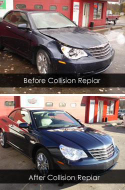 Seabring Before & After Collision Repair